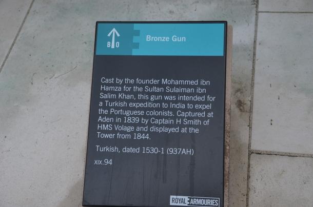 Bronze Gun description