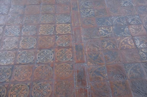 Chapel House medieval floor tiles