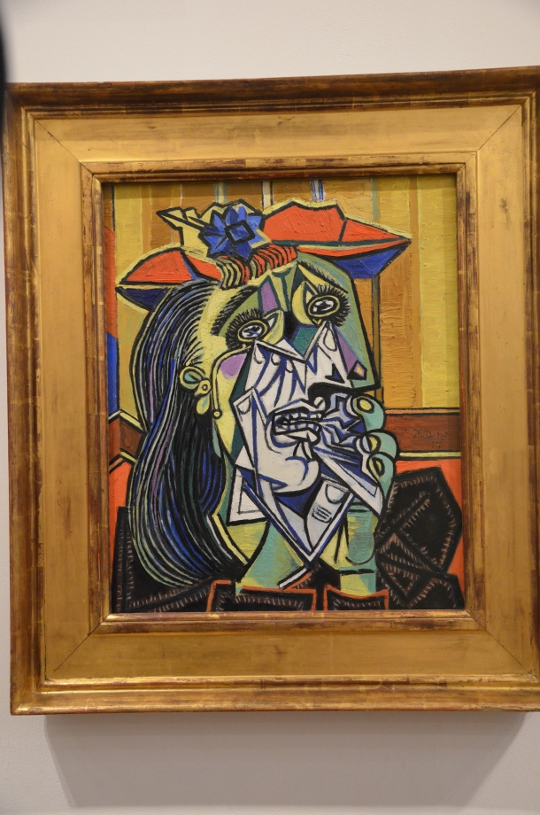"""""""Weeping Woman"""", Pablo Picasso (1937)"""