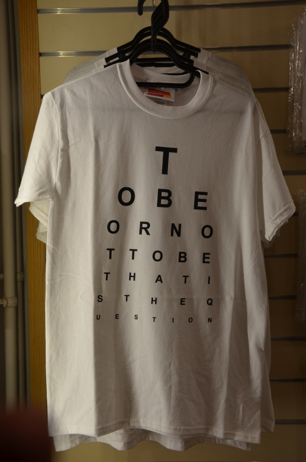 """to be or not to be"" t-shirt"