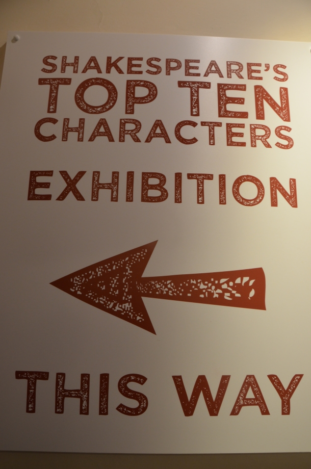 Top 10 Shakespeare Characters Exhibition
