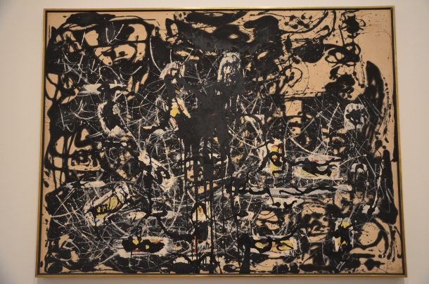 """Yellow Islands"", Jackson Pollock (1952)"