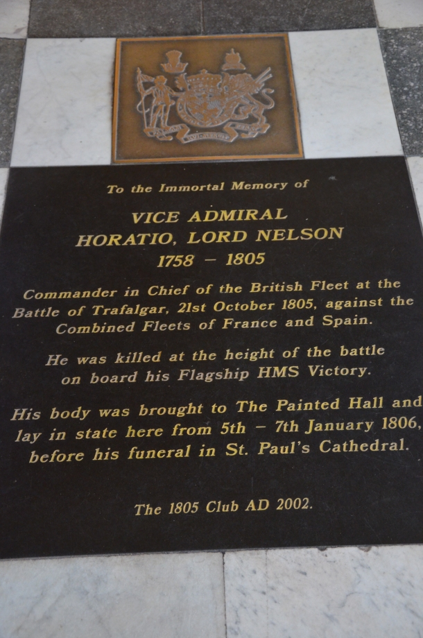 Vice Admiral Horatio, Lord Nelson