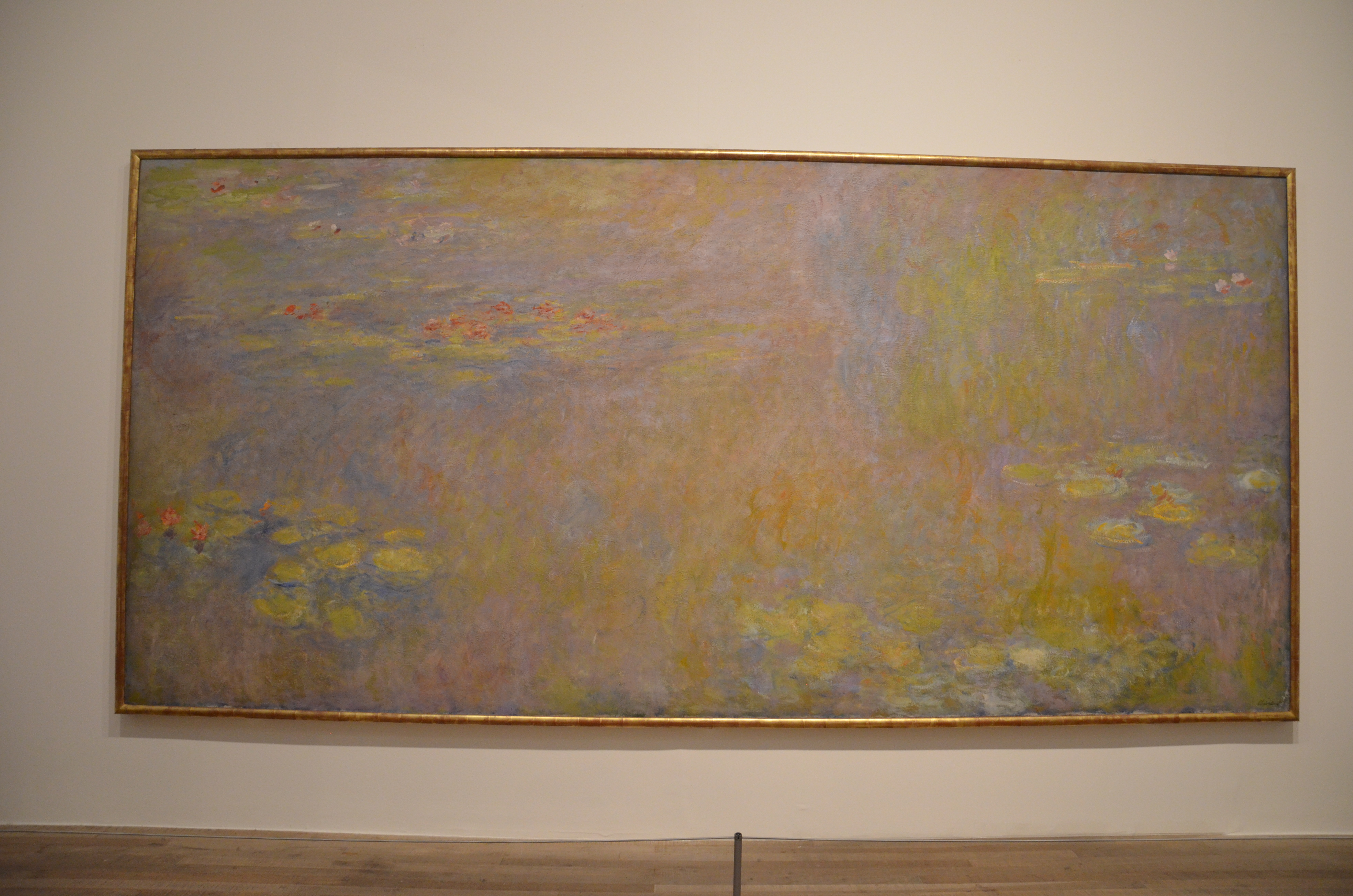 monet water lilies tate modern images