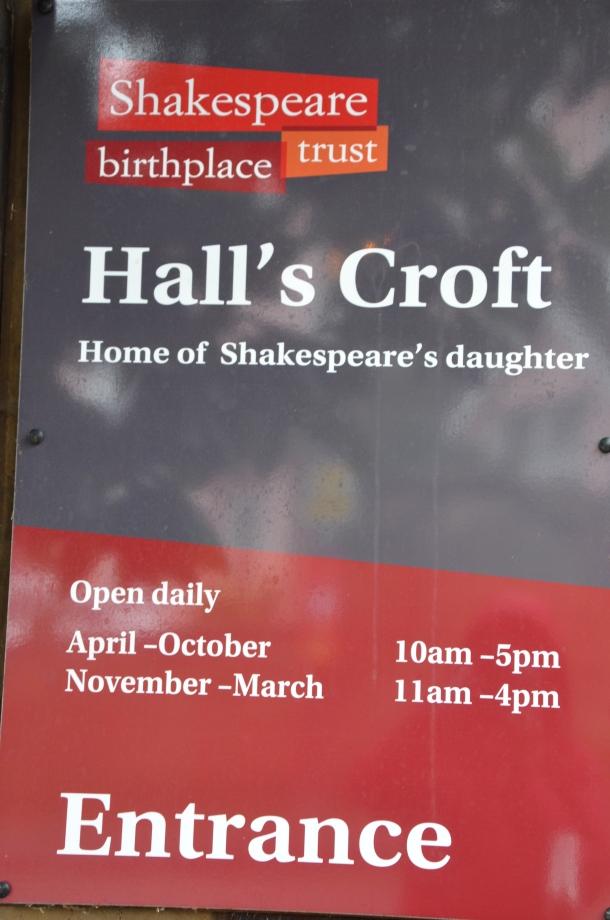 Hall's Croft