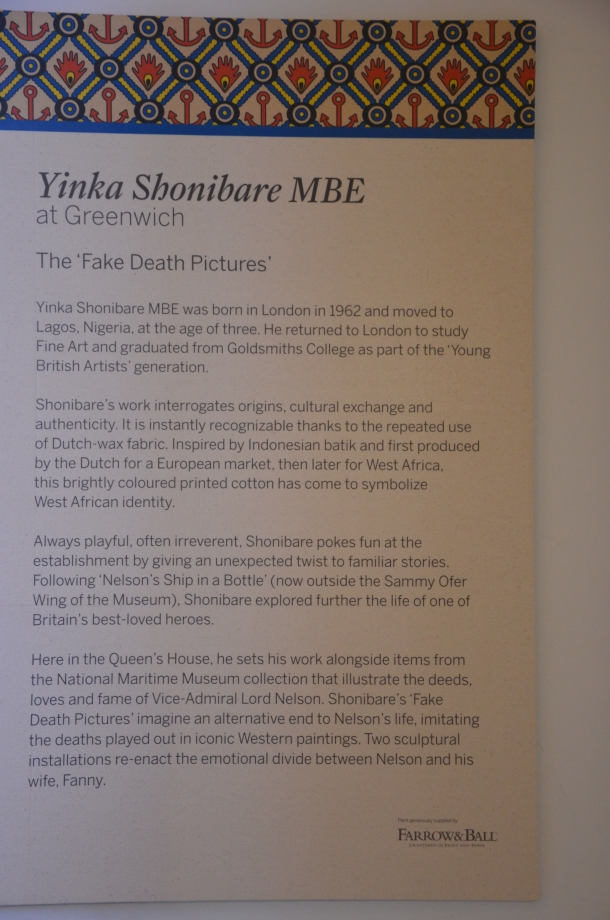 Yinka Shonibare MBE, 'The Fake Death Pictures'
