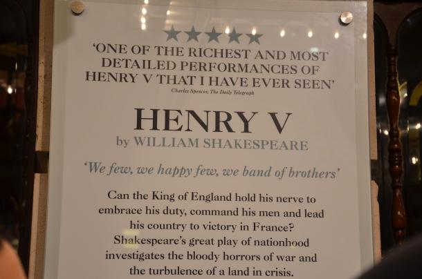 Henry V plot summary