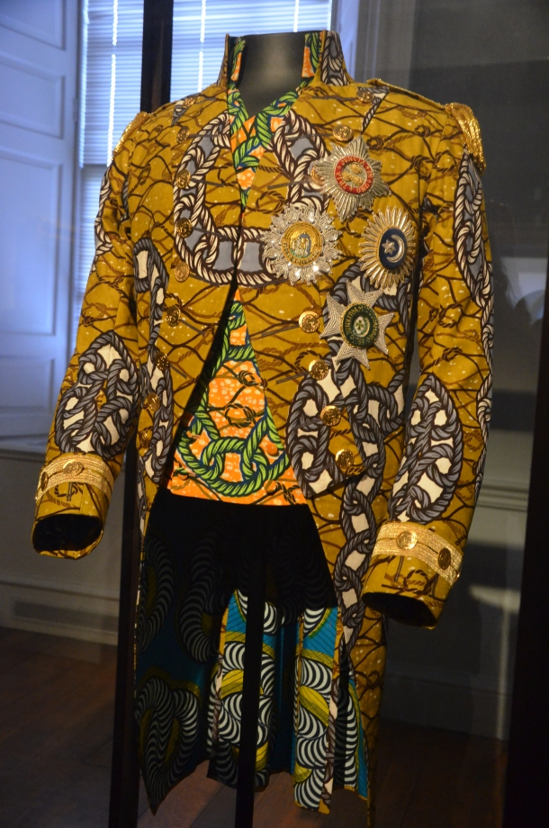 Nelson's Jacket (the famous Trafalgar uniform in Dutch wax)