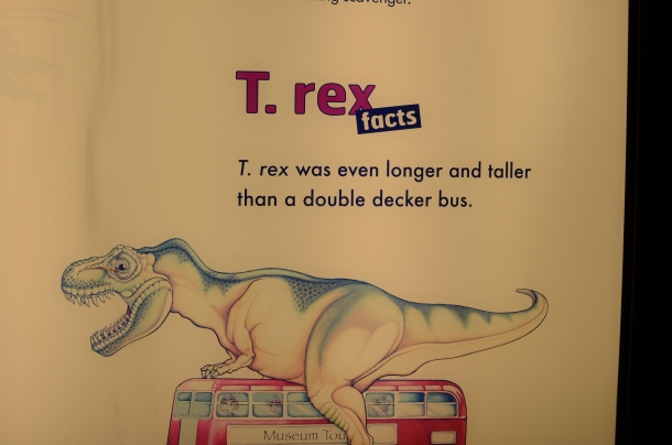 T-Rex Fun Fact #1