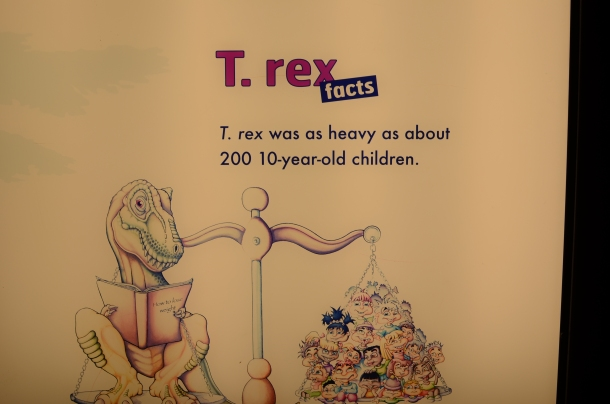 T-Rex Fun Fact #2
