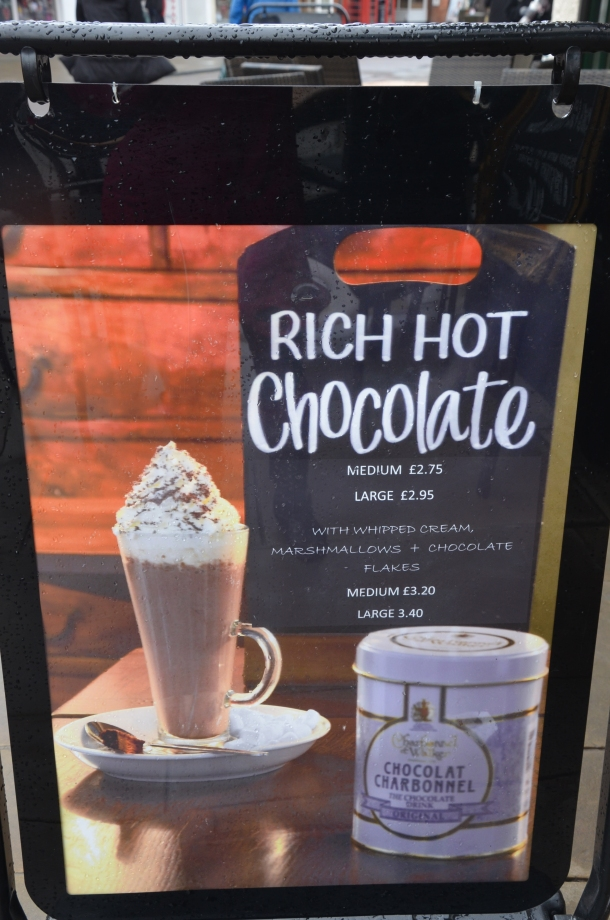 Hobsons 'rich hot chocolate'