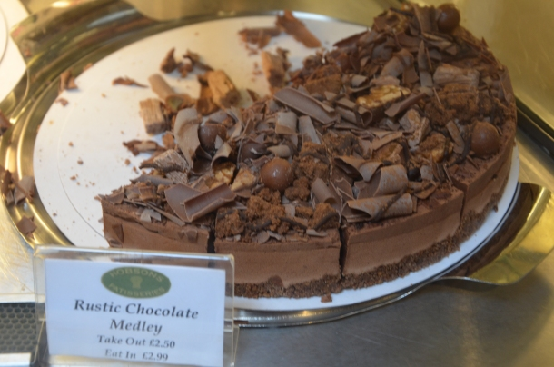 Rustic Chocolate Medley cake