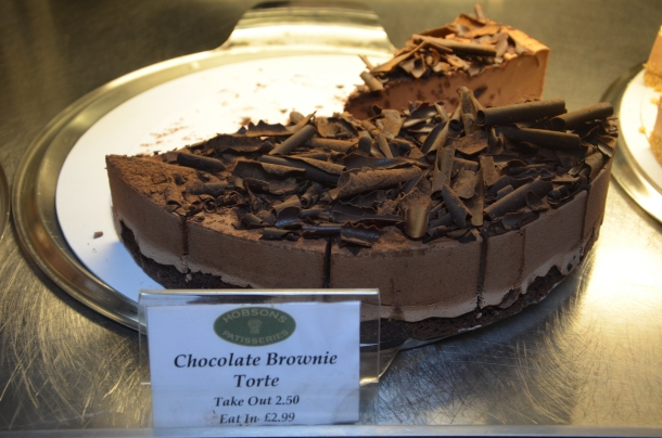 Chocolate Brownie Torte