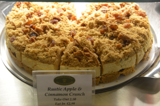 Rustic Apple & Cinnamon Crunch