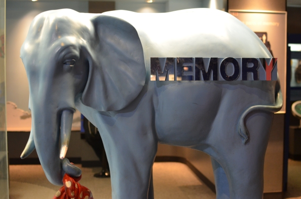 """memory of an elephant"""
