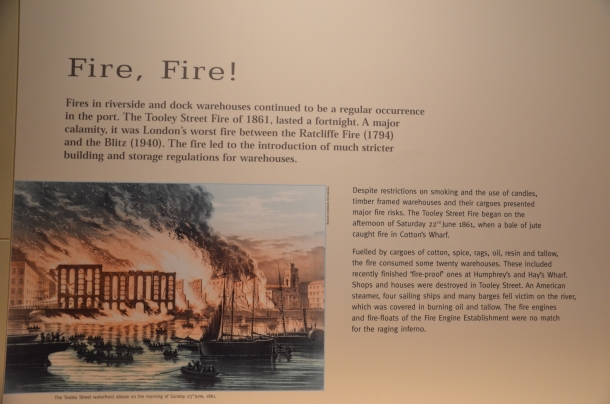 the Tooley Street Fire of 1861