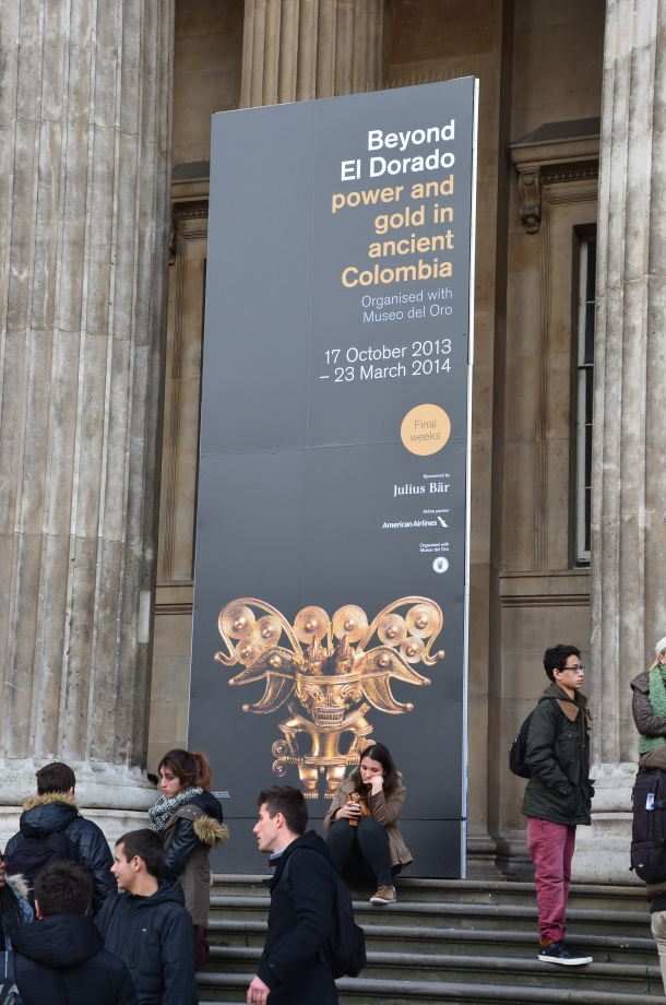 """Beyond El Dorado: power and gold in ancient Colombia"""