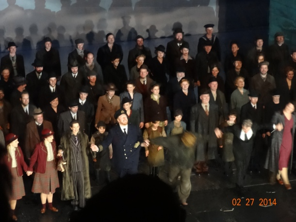 'Peter Grimes' leading the bow