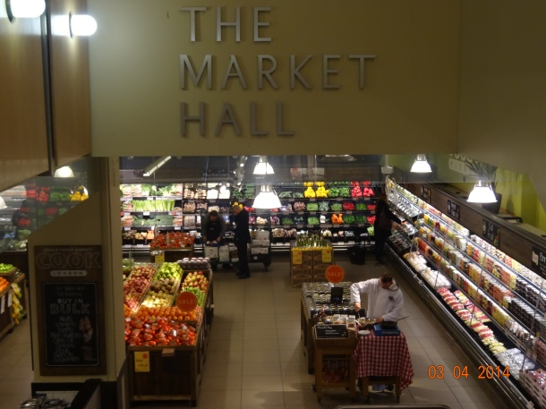 entrance to the Market Hall
