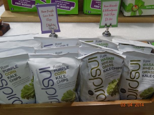 Kale Chips...