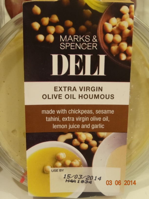 extra virgin olive oil houmous