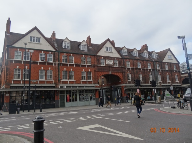 exterior of Old Spitalfields Market