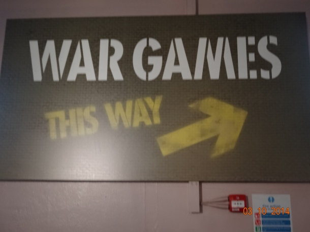 War Games display
