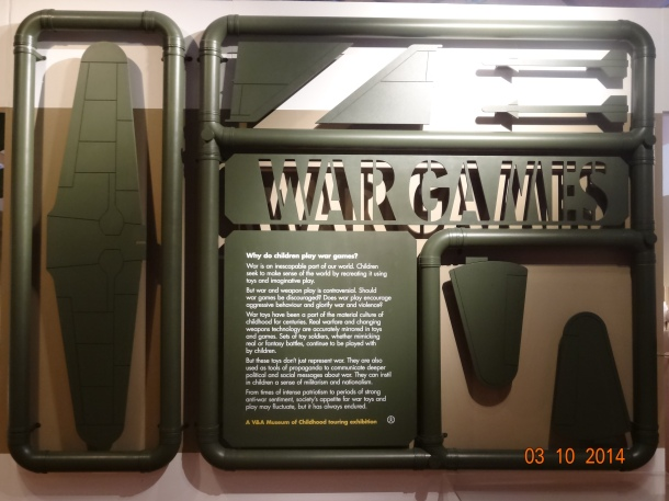 sampling of the War Games exhibit