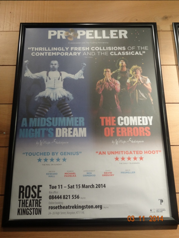 shows at the Rose Theatre