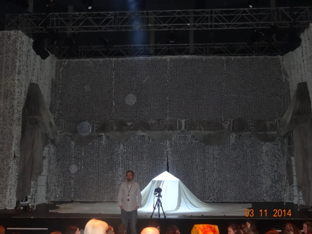 Midsummer Night's Dream stage