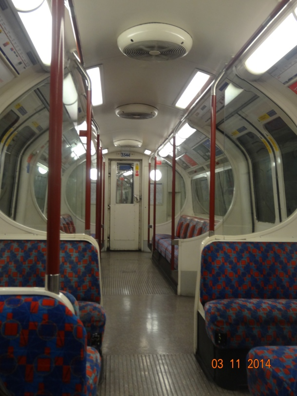 empty tube/train!