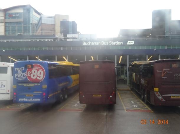 Buchanan Bus Station, Glasgow