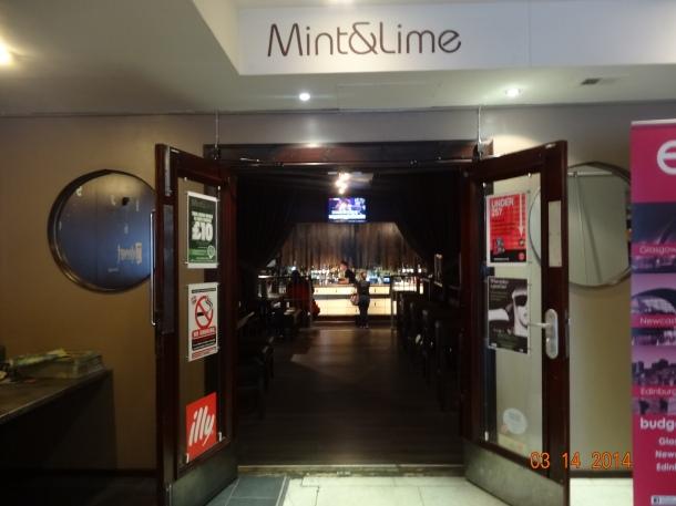 Mint&Lime bar