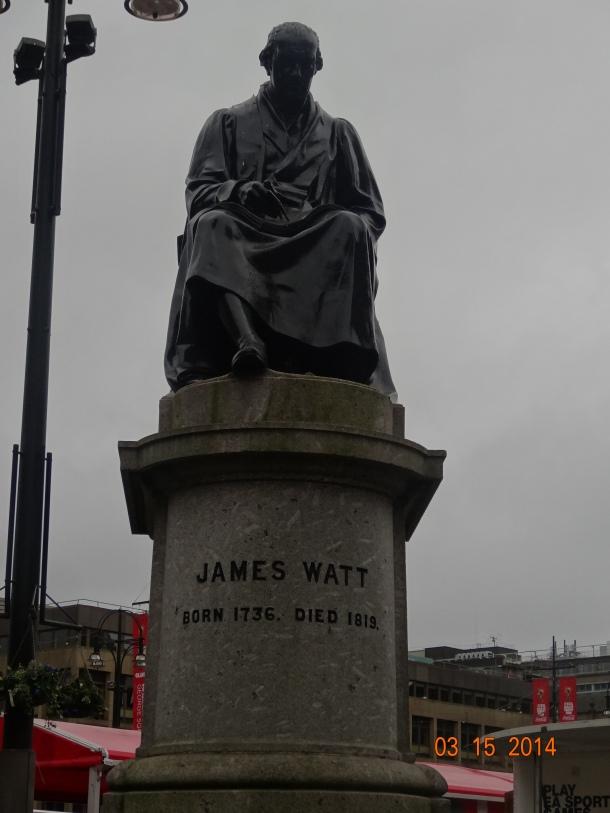 statue of James Watt