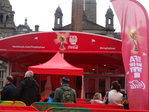 FIFA World Cup Trophy Tour, sponsored by Coca-Cola