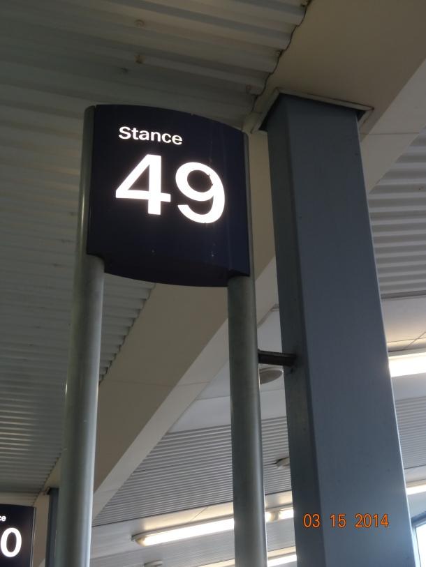 bus stop 49