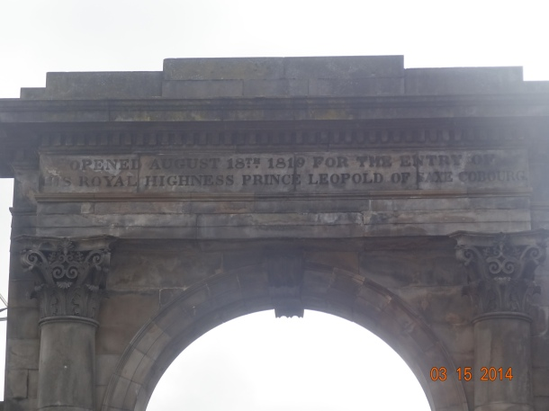 arch inscripton