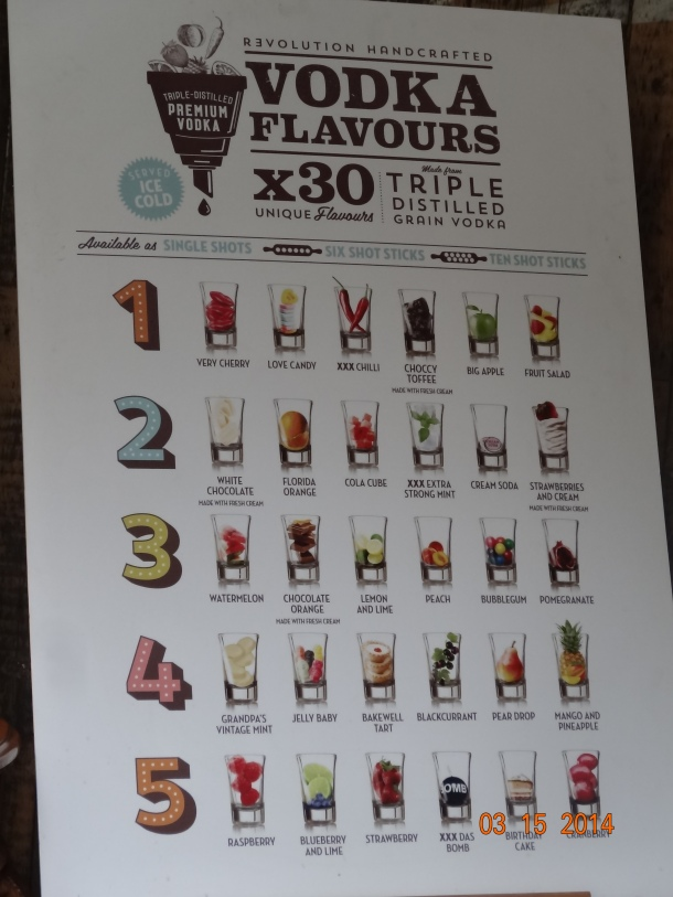 30 vodka flavors