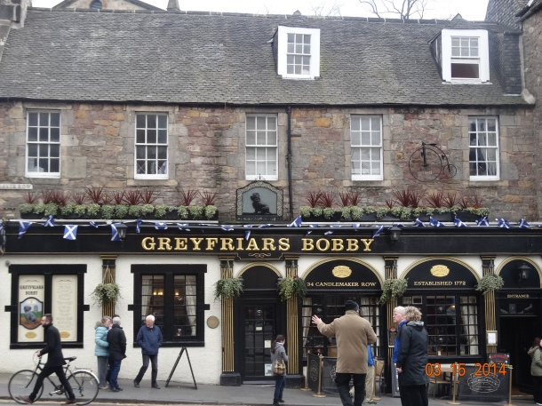Greyfriar's Bobby, established in 1772