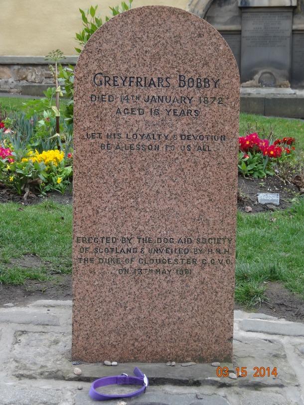 grave of Greyfriar's Bobby