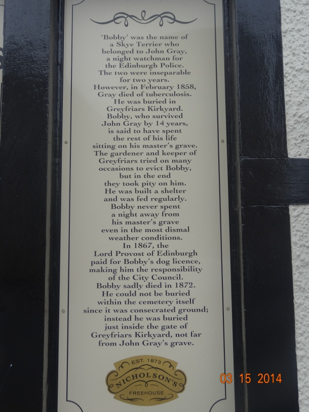 the story of Greyfriar's Bobby
