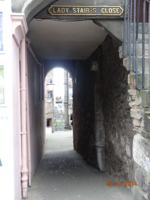 Lady Stair's Close