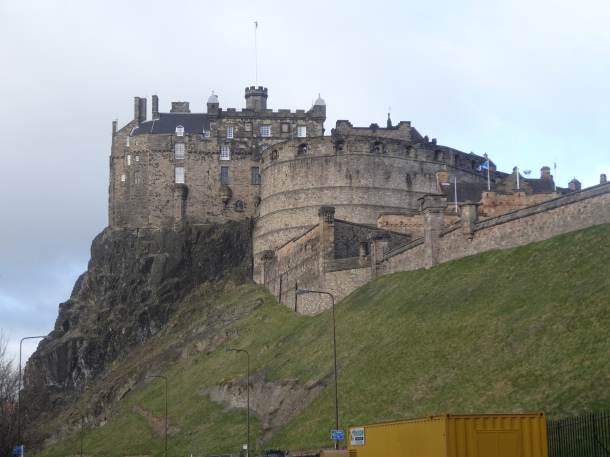 good morning, Edinburgh castle!