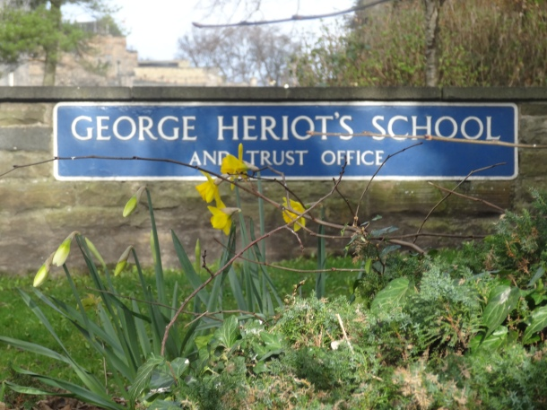 George Heriot's School, the original Hogwarts