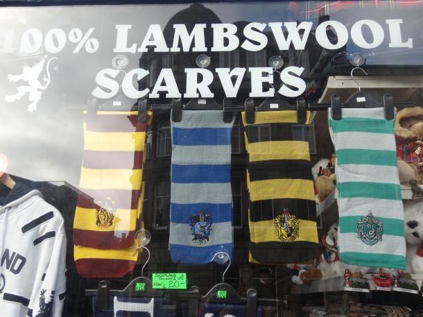 Hogwarts scarves