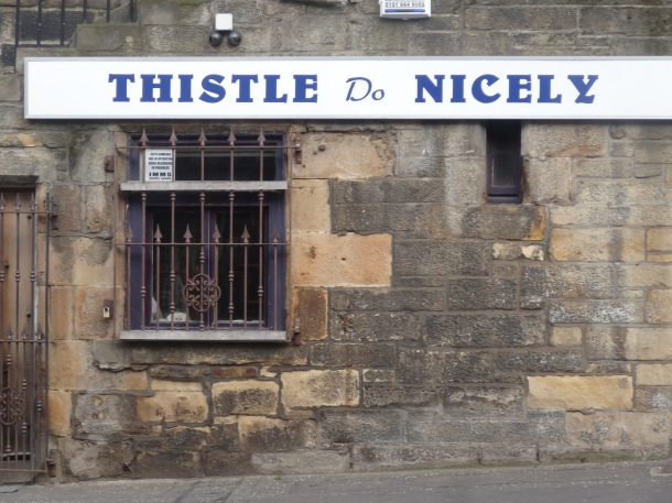 """Thistle Do Nicely"""