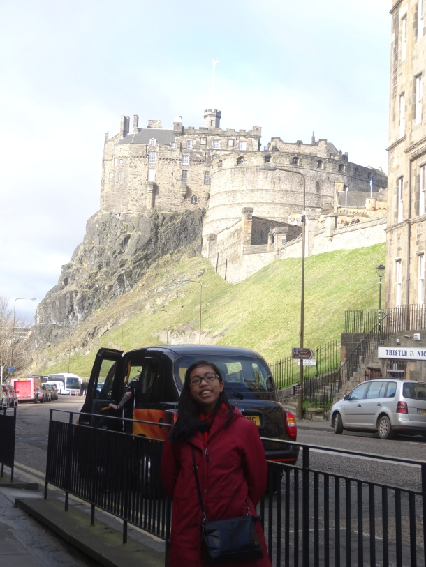 goodbye, Edinburgh!