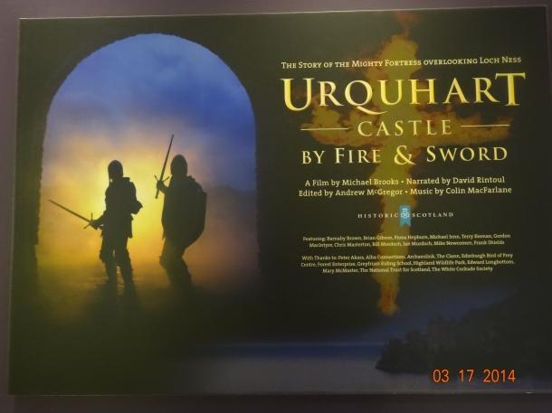 Urquhart Castle movie