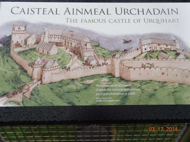 """""""Caisteal Ainmeal Urchadain"""" (The Famous Castle of Urquhart)"""