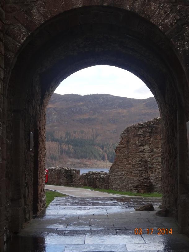 entrance to Urquhart Castle